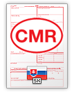 Internationell fraktsedel CMR (english & slovenčina)