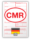 Internationell fraktsedel CMR (english & deutsch)