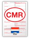 Internationell fraktsedel CMR (english & nederlands)